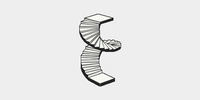 Винтовая лестница от компании StairsRussia